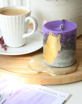 Betona svece - violeta